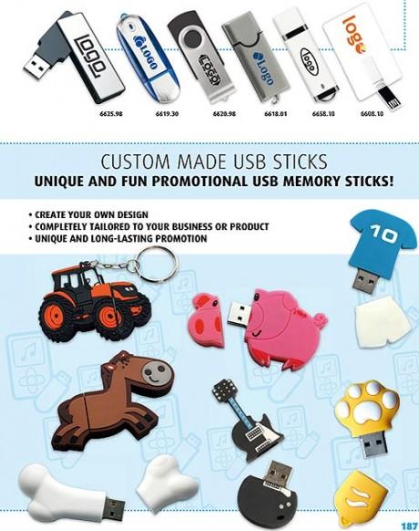 USB-muistitikut customoidut